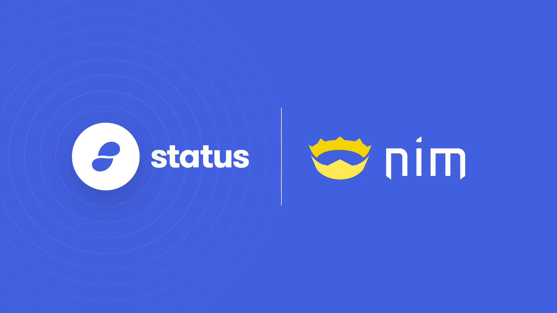 Status Partners with the team behind the programming language Nim
