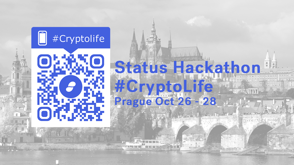 Why name the Status Hackathon - #CryptoLife? What does that actually mean?