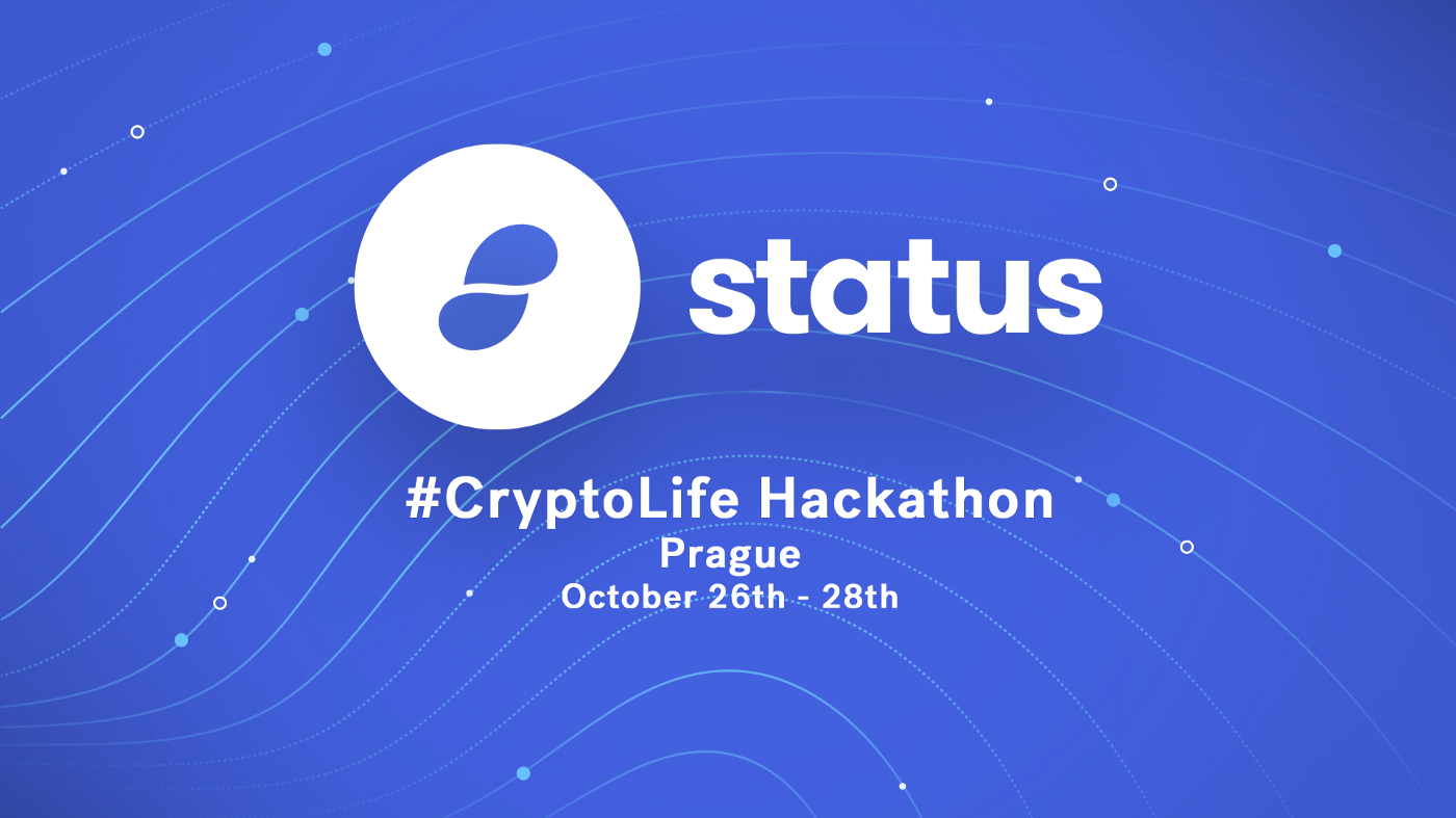 Announcing the Status #Cryptolife Hackathon