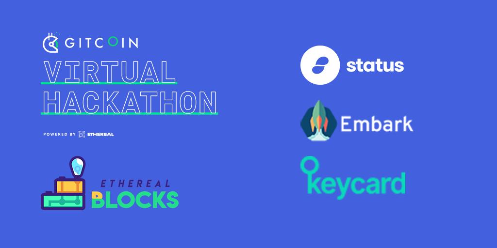 Ethereal Blocks - Status & The Virtual Hackathon
