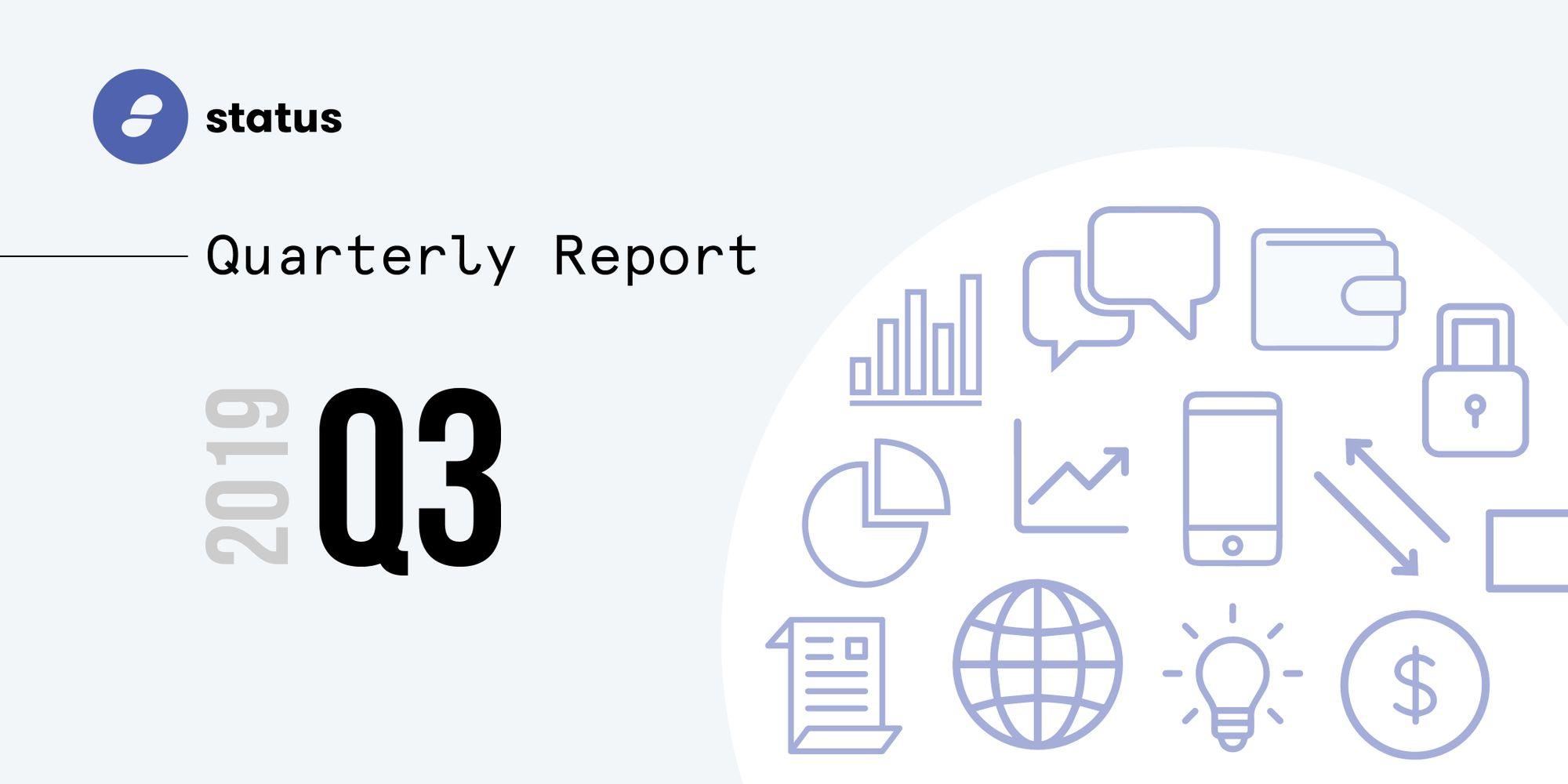 The Status Network Quarterly Report - Q3 2019