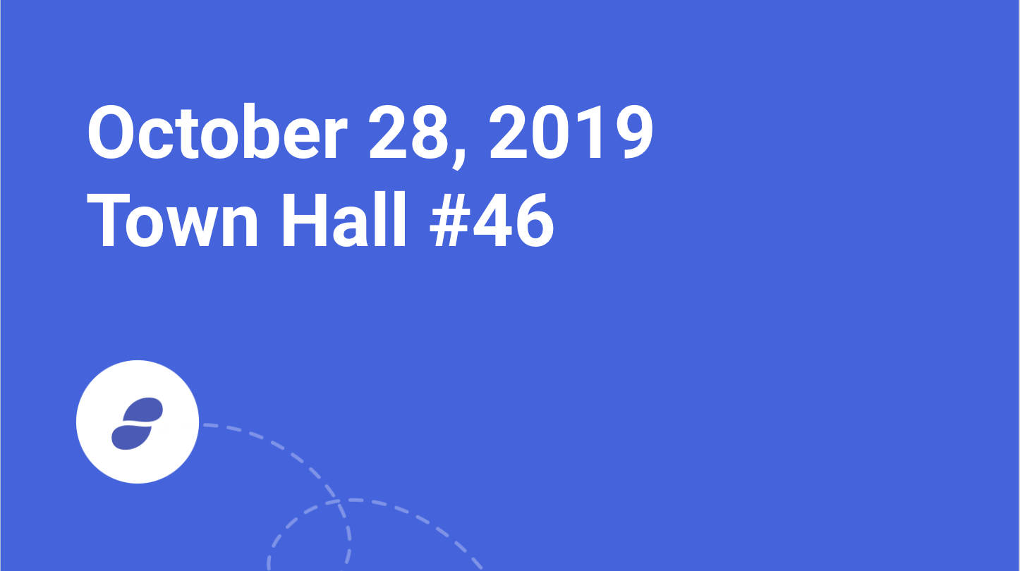 Town Hall - Monday October 28, 2019