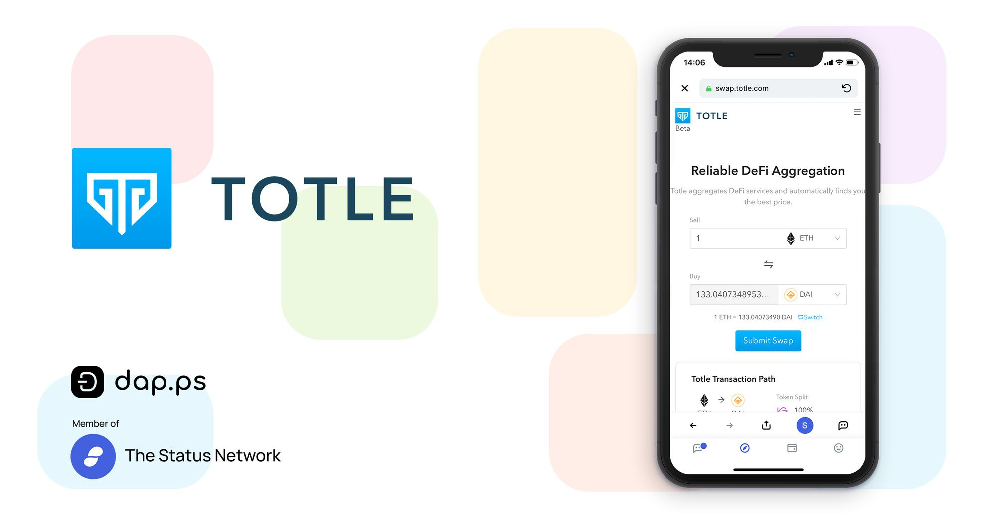 Totle Swap: Comparison Shopping for Crypto Swaps