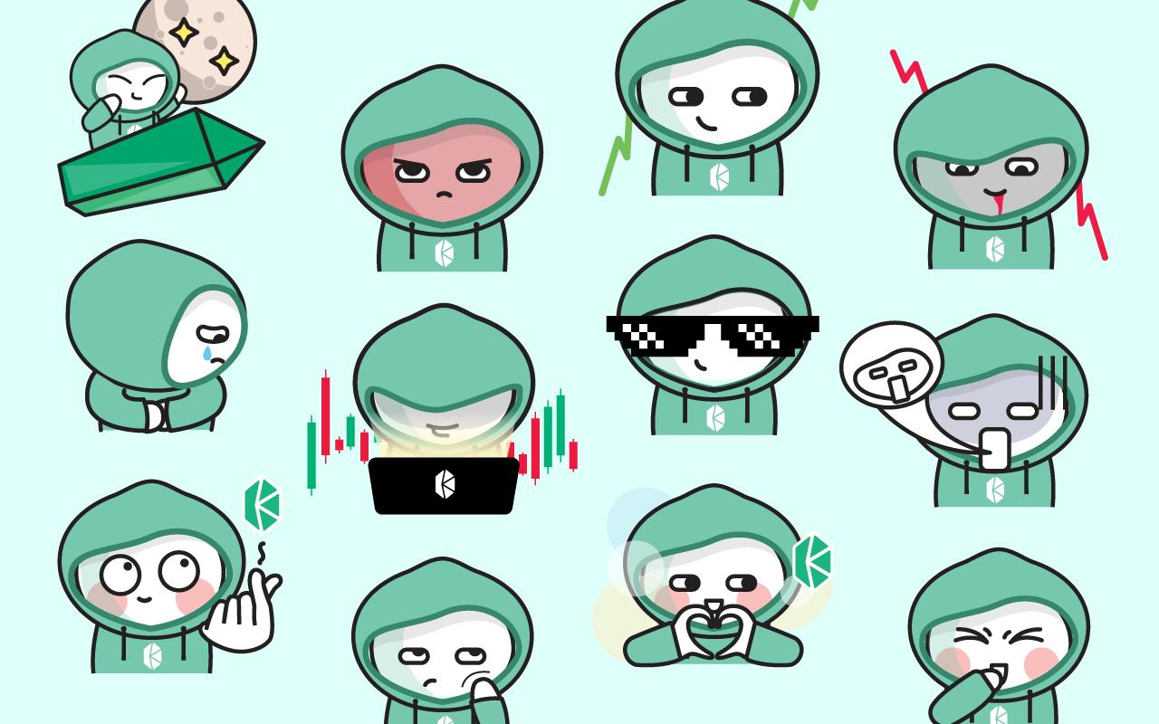 Kyber Network Sticker Pack