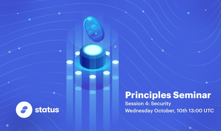 Principles Seminar - Session 4: Security