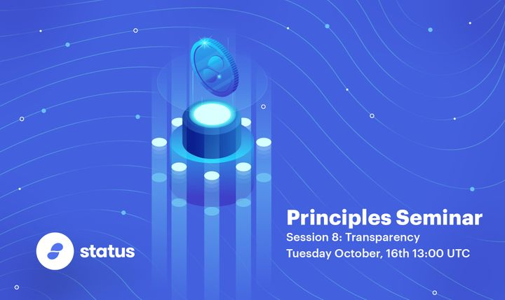 Principles Seminar - Session 8: Transparency