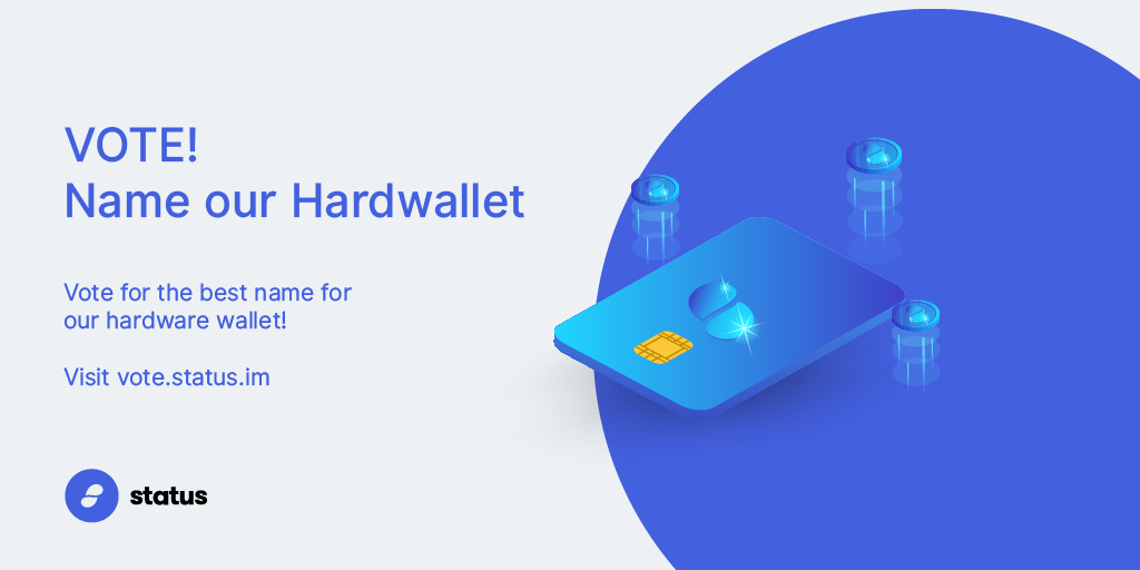 Vote! Name our Hardwallet