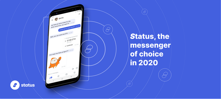 Status V1 the messenger of choice 2020