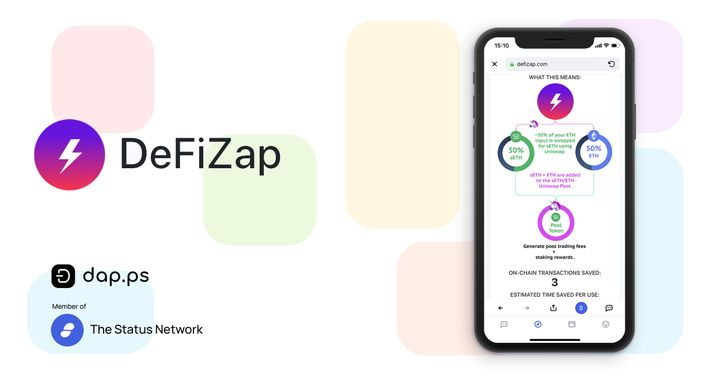 DeFi Buffet On Mobile with DeFi Zap
