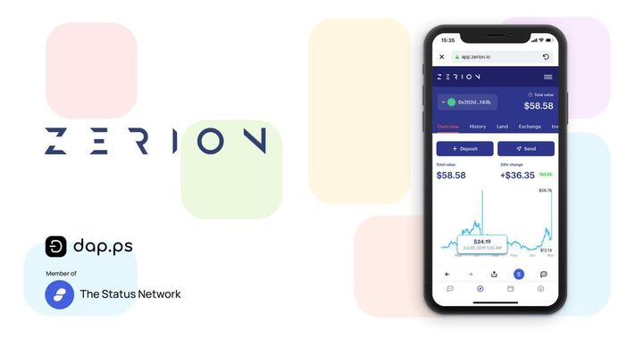 Zerion: DeFi Visualization for Adoption