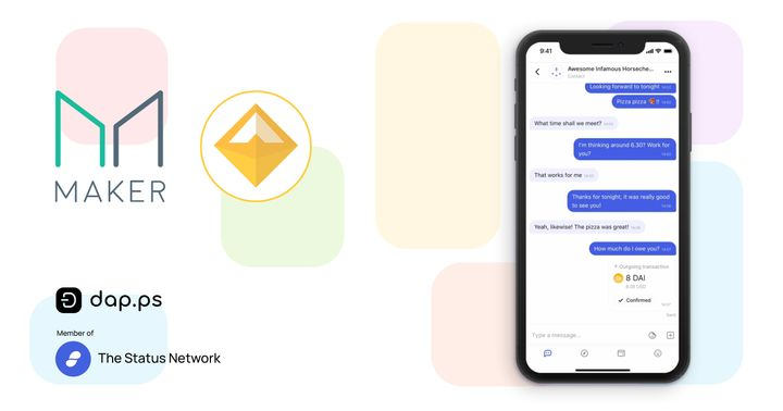 DeFi & DAI with the Status Messenger Wallet