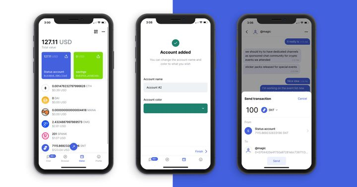 Using The Status Wallet