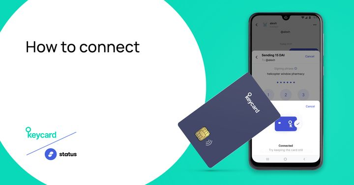 How to Connect Your Keycard to Your Status Account