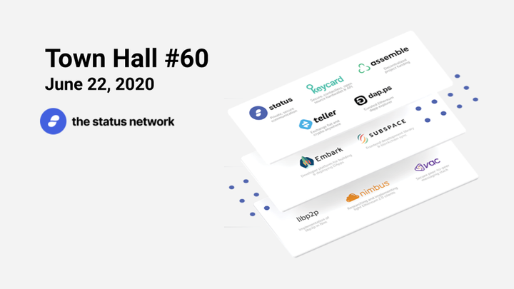 Town Hall #60 - June 22, 2020