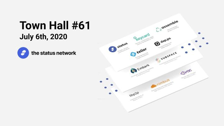 Town Hall #61 - July 6, 2020