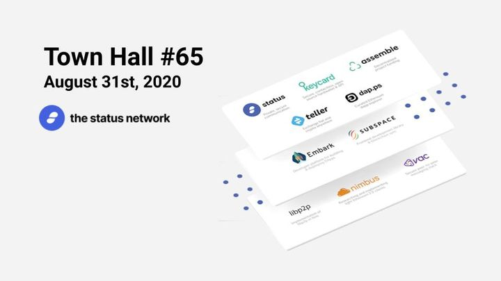 Town Hall #65 - August 31, 2020