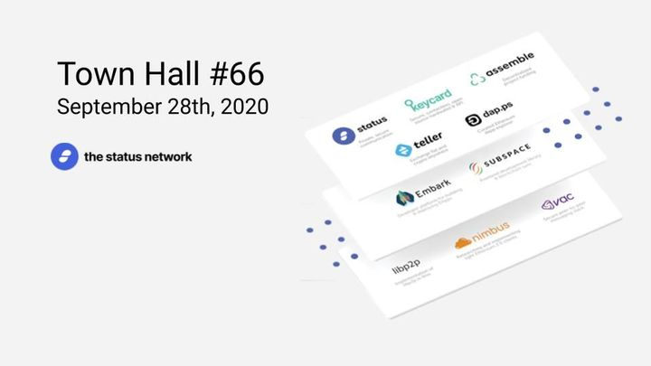 Town Hall #66 - September 28, 2020