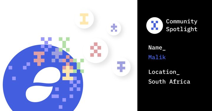 Status Community Spotlight: Malik