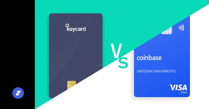 Coinbase Card vs Keycard: What's the difference?